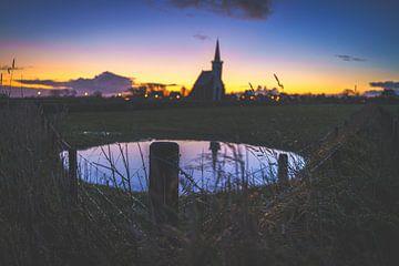 Kirche von Texel von Fotografiecor .nl