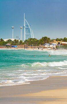 Burj al Arab en JBR Beach
