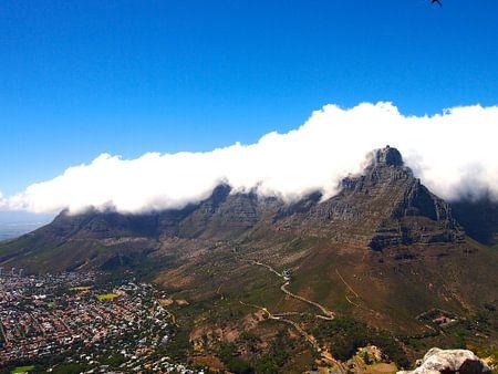 Tafelberg in Wolken