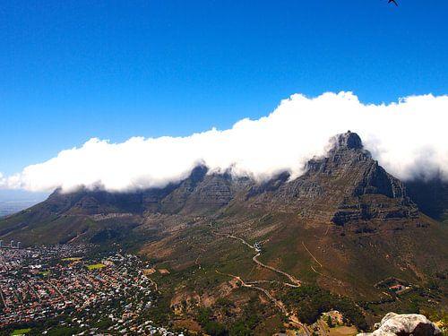 Tafelberg in Wolken van Patrick Hundt