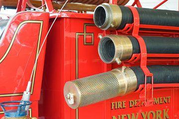 Oude brandweerwagen New york van Ivonne Wierink