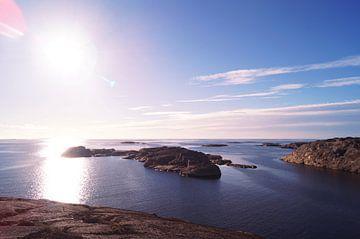 Scandinavische lucht van Maximilian Dangel