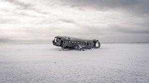 DC-3 Flugzeugwrack von Sander Spreeuwenberg