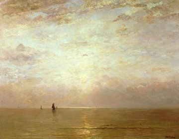 Zonsondergang, Hendrik Willem Mesdag