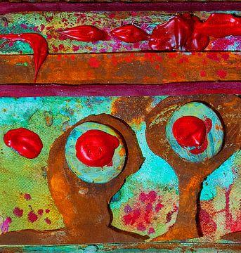 Roest en rood van Klaus Heidecker