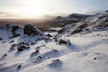 Verschneite Berge von Merijn Geurts
