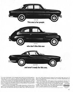 Werbung Volvo 1963 von Jaap Ros