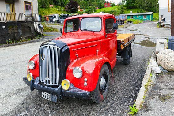 Oldtimer Morris Commercial Vrachtwagen van Evert Jan Luchies
