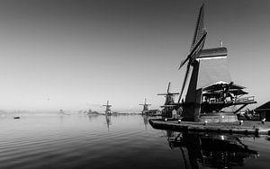Windmolens aan de Zaanse Schans