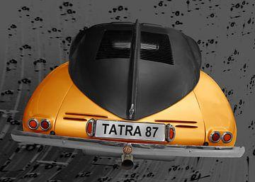 Tatra 87 in geel & zwart van aRi F. Huber