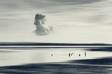 Chill Out - Menschen am Strand von  Sanur Kauh - Bali von Dirk Wüstenhagen