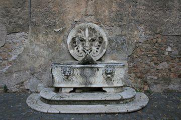 Fontein in Rome van Floortje Mink
