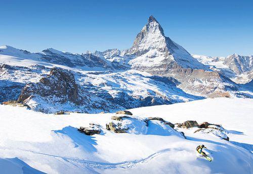 Ski Matterhorn Zermatt Zwitserland van