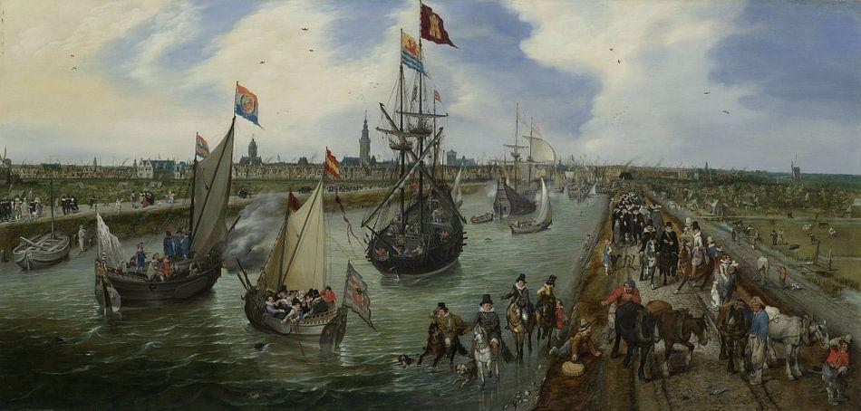 Het vertrek van een hoogwaardigheidsbekleder uit Middelburg van Rebel Ontwerp