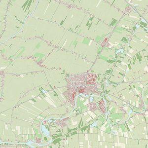 Kaart vanLeerdam