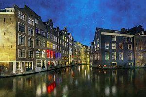 Aquarell Amsterdam