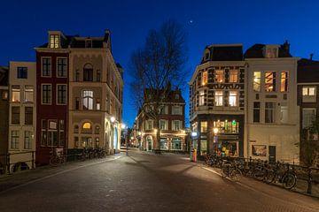 Maartensbrug avondsfeer Utrecht van André Russcher