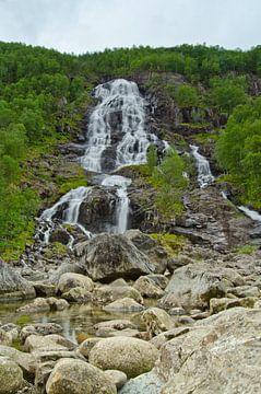 Brattland Waterval - Noorwegen van