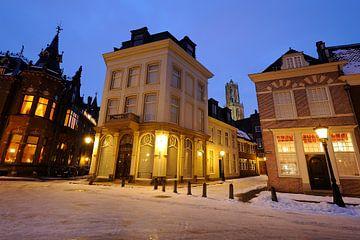 Nieuwegracht, Trans, Achter de Dom in Utrecht  sur Donker Utrecht