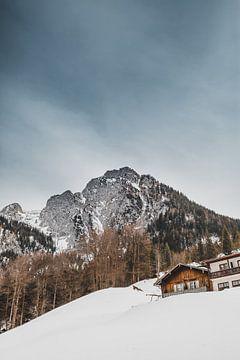 Berchtesgaden   L'hiver dans les Alpes sur Nanda van der Eijk