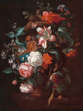 Blumen in einer Vase, Philip van Kouwenbergh