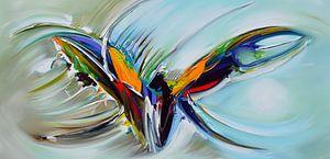 Abstract Flying van