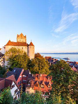 Alte Burg in Meersburg am Bodensee von Werner Dieterich