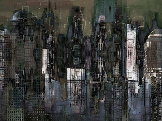 5. Stedelijk landschap, Manhattan, NY.