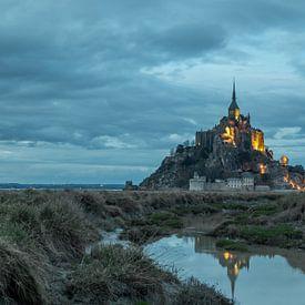 Mont-Saint-Michel van John Ouds