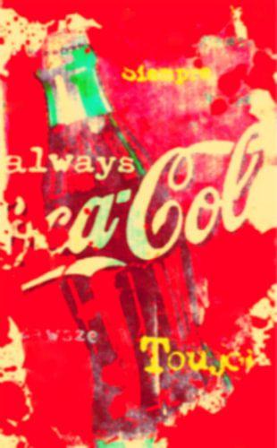 Coca Cola Pop Art PUR 2
