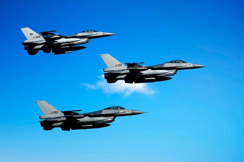 F-16 Fighting Falcons, Nederland van Gert Hilbink