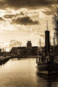 De grote kerk van Dordrecht van Petra Brouwer