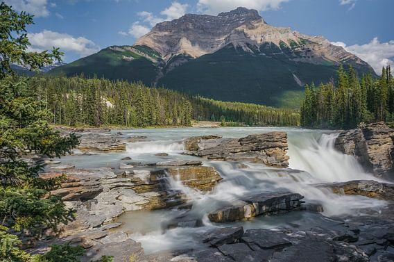 Athabasca Falls van Joris Pannemans - Loris Photography