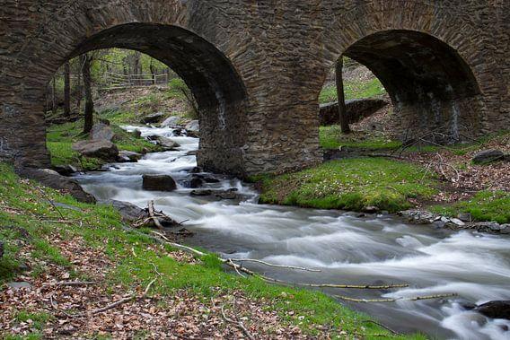 The Stone Bridge van Cornelis (Cees) Cornelissen