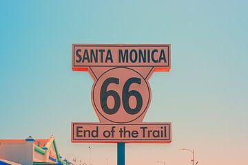 Route 66 Einde van het traject van Pascal Deckarm