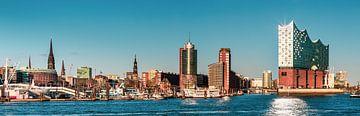 Hamburg Skyline von Ursula Reins