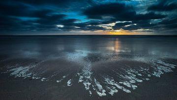 Zonsondergang  #2867 von Daan Overkleeft