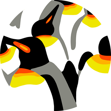 Pinguins van Jole Art (Annejole Jacobs - de Jongh)