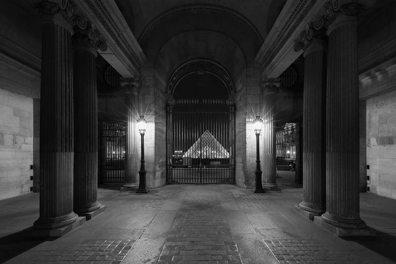 Het Louvre Museum in Parijs van MS Fotografie | Marc van der Stelt