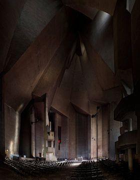 Wallfahrtskirche Neviges von Ingo Fischer