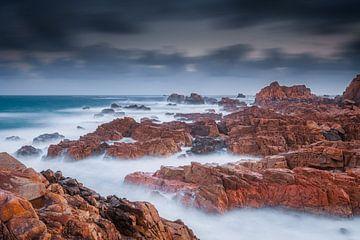Der Abgrund von Plougrescant (Bretagne) von Yannick Lefevre