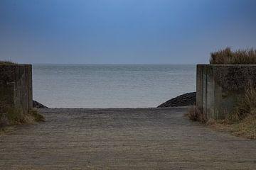 Vlieland - Jachthaven doorkijkje I