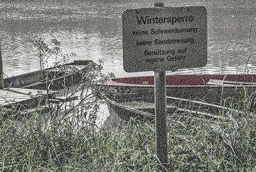 Wintersperre van Christine Nöhmeier