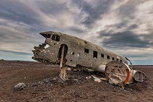 Flugzeugwrack der Solheimasandur von Easycopters