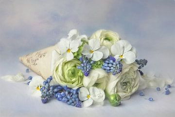 Bloemenromantiek - délicat van Lizzy Pe