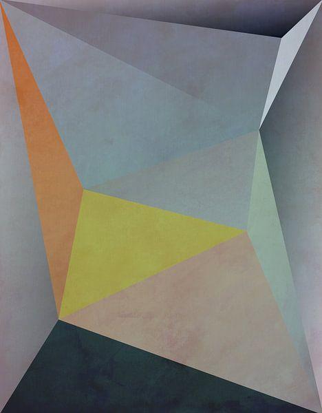 Abstrakte Komposition 1137 von Angel Estevez
