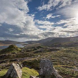 The Storr view on Loch Leathan van Stephan van Krimpen