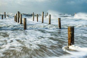 Südwestlicher Sturm auf der Palendorp von Nando Harmsen