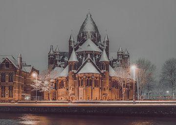 Haarlem: De Kathedrale basiliek Sint Bavo. von Olaf Kramer