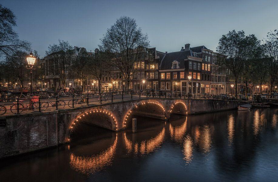 Keizersgracht / Brouwersgracht, Amsterdam van Reinier Snijders